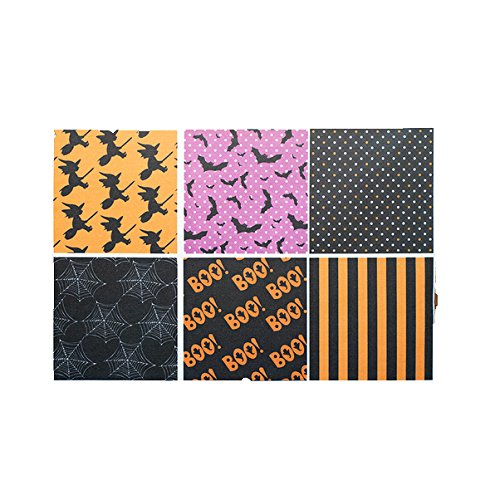 Do It Yourself Halloween Fabric Squares Set of 6 (Wilmington Halloween Store)