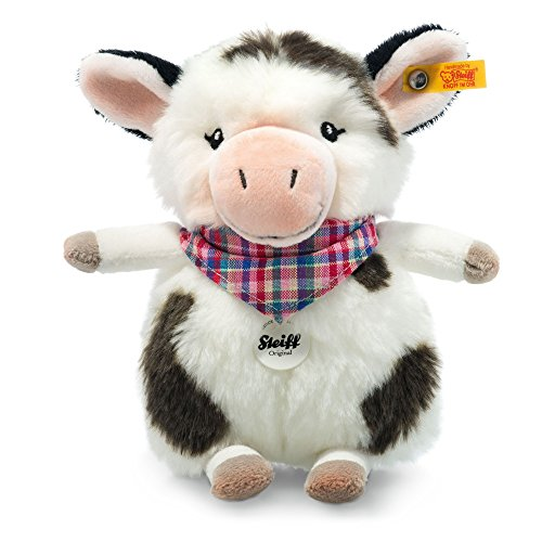 Steiff Stuffed Cow - Soft And Cuddly Plush Animal Toy - 7