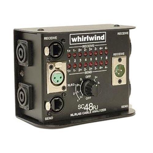 (Whirlwind SC48RJ Tester)