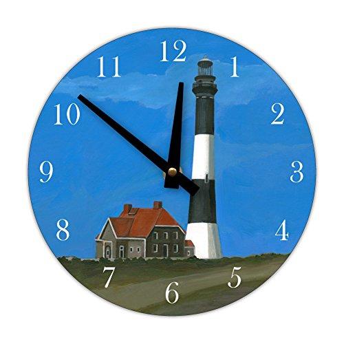 Decorative Wall Clock, Fire Island Lighthouse