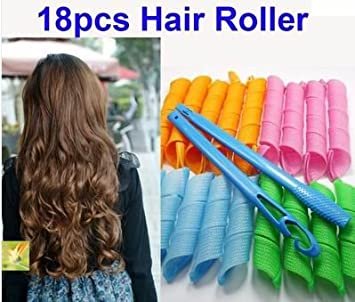 Amazon Com Snow 18pcs New Magic Leverag Circle Hair Styling Roller