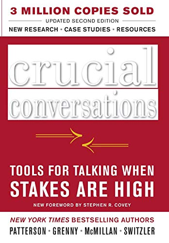 Pdf Relationships Crucial Conversations: Tools for Talking When Stakes Are High, Second Edition