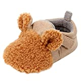 SMALLE ◕‿◕ Clearance,Newborn Baby Girls Boys Flock Ear Warm Winter First Walker Soft Sole Shoes