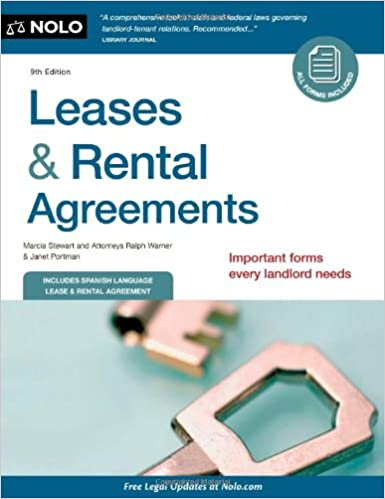 Amazon Com Leases Rental Agreements 9781413316193