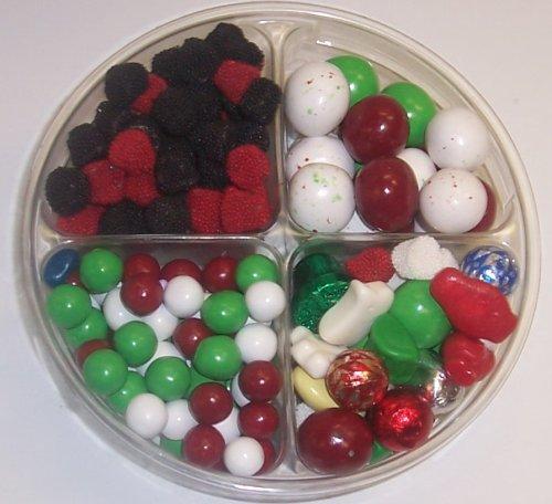 Scott's Cakes 4-Pack Deluxe Christmas Mix, Dutch Mints, Christmas Malt Balls, & Rasp. & Blackberries