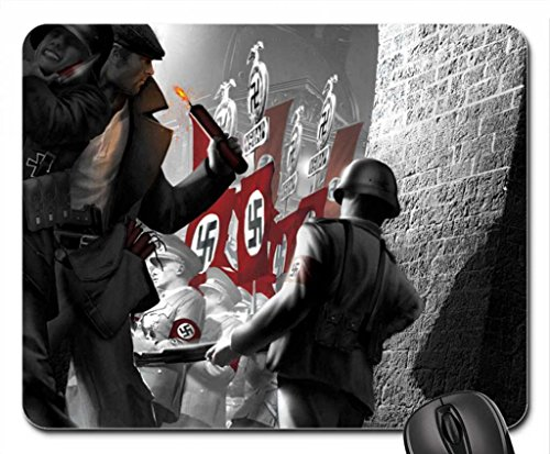 The Saboteur Mouse Pad, Mousepad (10.2 x 8.3 x 0.12 inches)