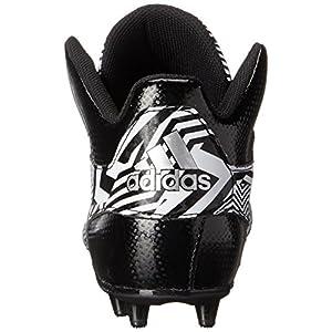 Adidas Performance Men's Filthyspeed Mid Football Cleat, Black/Platinum, 10.5 M US