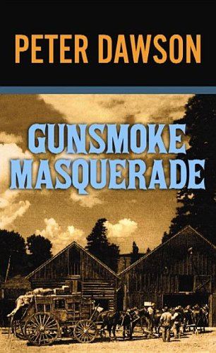 book cover of Gunsmoke Masquerade