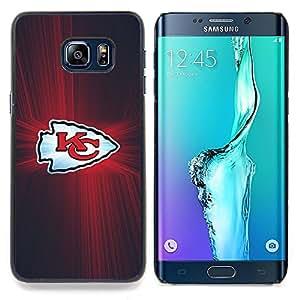 - KC Team - - Cubierta del caso de impacto con el patr??n Art Designs FOR Samsung Galaxy S6 Edge Plus Queen Pattern
