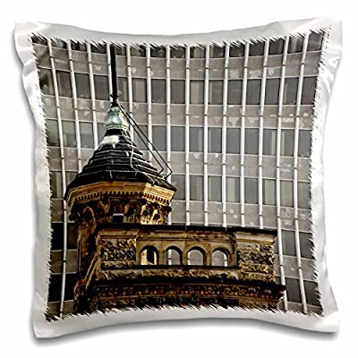 3dRose pc_90378_1 Architectural details, Louisville, Kentucky-US18 AJE0353-Adam Jones-Pillow Case, 16 by 16""