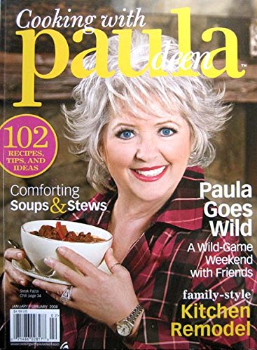 3 Paula Deen Magazines 2008 Wild Game, Halloween Treats, Sunday Suppers, Homemade Ice Cream, Grilling
