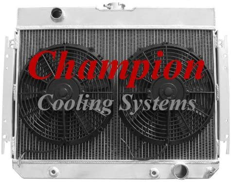 1964-1967 Chevy El Camino All Alum 4 Row Core KR Champion Radiator