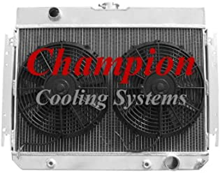 4 Row SZ Champion Radiator for 1917-1927 Ford T-Bucket Chevy Configuration