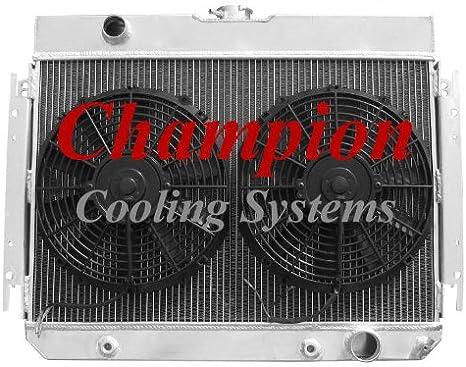 1964 1965 1966 1967 1968 Chevy Chevelle El Camino 3 Row RR Radiator