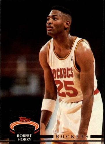 1992 Stadium Club Basketball Rookie Card (1992-93) #223 Robert Horry ()