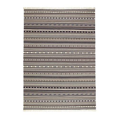 Ikea Rug, flatwoven, handmade gray 5 ' 7 ''x7 ' 10 '', 228.8118.3834 by IKEA