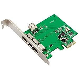 LogiLink PC0030A - Tarjeta de puerto FireWire, multicolor