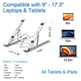Laptop Stand, FIASON Adjustable Portable Laptop