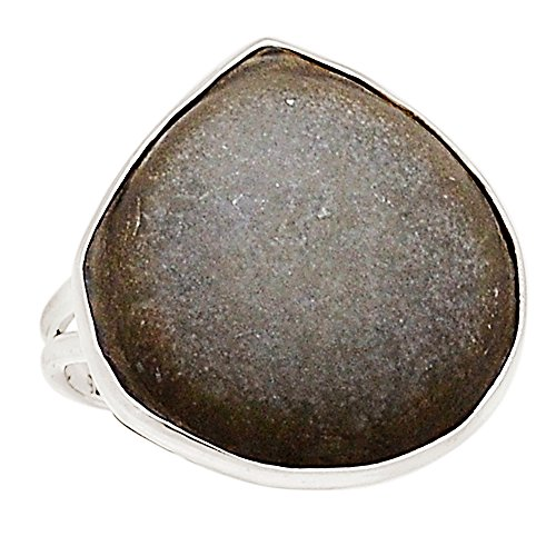 Xtremegems Fairy Stone From Quebec 925 Sterling Silver Ring Jewelry Size 9.5 15604R -