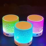 guangtongLED Light Bulb with Integrated Bluetooth Speaker,Mini portable Bluetooth speaker intelligent LED colorful glare, RGB Changing Lamp Wireless Stereo Audio with Remote Control