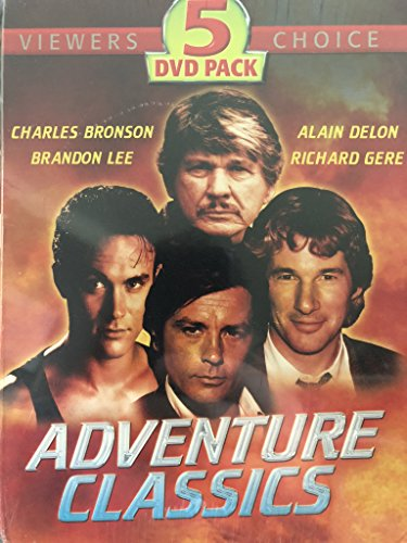 Adventure Classics (5-Disc Box Set): Guns Of Diablo / Abraxas: Guardian Of The Universe / Laser Mission / Zorro/ Strike Force