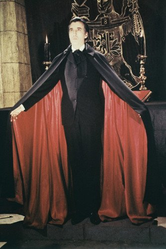 Moviestore Christopher Lee als Dracula in Taste the Blood of Dracula 91x60cm Farb-Posterdruck