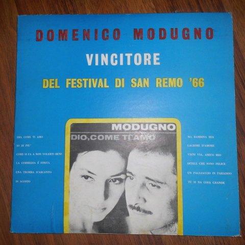 Domenico Modugno , Vincitore Del Festival Di San Remo '66 (Curci // Vinyl)