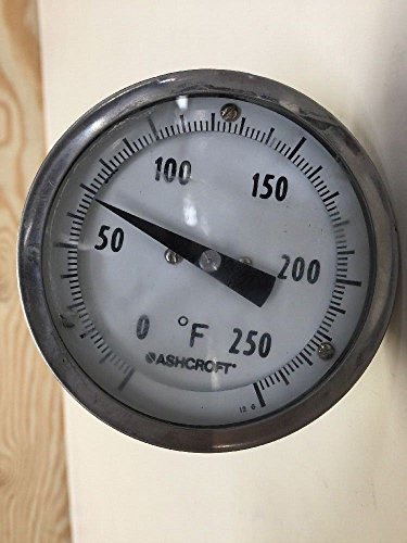 Ashcroft Steel Silver Dial Thermometer 30EI60R0200 Range Tem