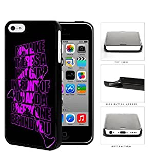 MMZ DIY PHONE CASERun Like There's A Hot Guy Violet Hard Plastic Snap On Cell Phone Case Apple ipod touch 4