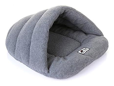 L, Azul thematys Colchoneta Material de Felpa Cama de Almohada Lavable y Resistente a los ara/ñazos para Perros y Gatos