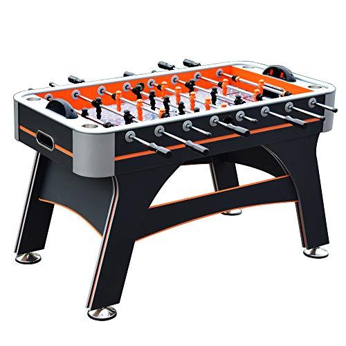 Hathaway Trailblazer 56-in Foosball Table, Black/Orange