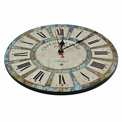 large wall clocks decorative clock silent non ticking for living room kitchen 729910157740 ebay. Black Bedroom Furniture Sets. Home Design Ideas
