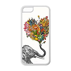 MEIMEIProtective Phone Cover Vintage Elephant Design Cheap Custom Case for iphone 4/4s iphone 4/4s-AX924092MEIMEI