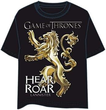 Camiseta Juego de Tronos Logo Lannister Talla XL: Amazon.es: Juguetes y juegos