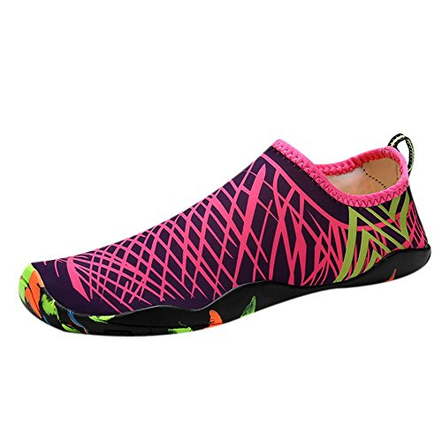 Sherostore ♡ Womens and Mens Kids Water Shoes Barefoot Quick-Dry Aqua Socks for Beach Swim Surf Yoga Exercise ()
