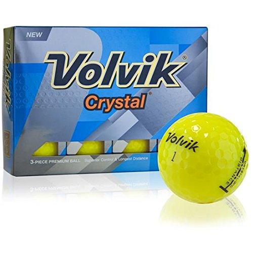Crystal Volvik Control - Volvik Prior Generation Crystal Yellow Golf Balls