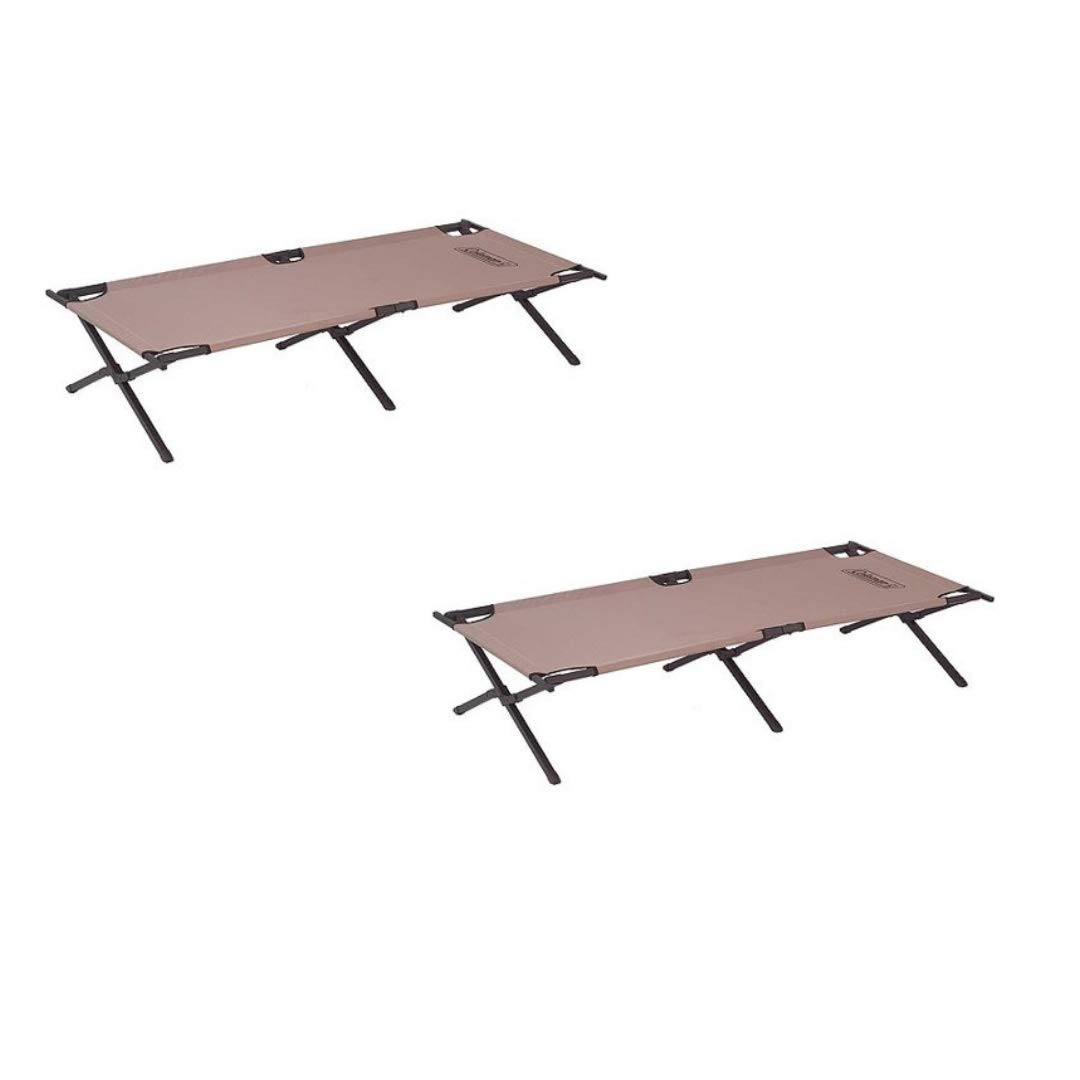 Coleman Trailhead II Cot (2 Count, Military Camping Cot)