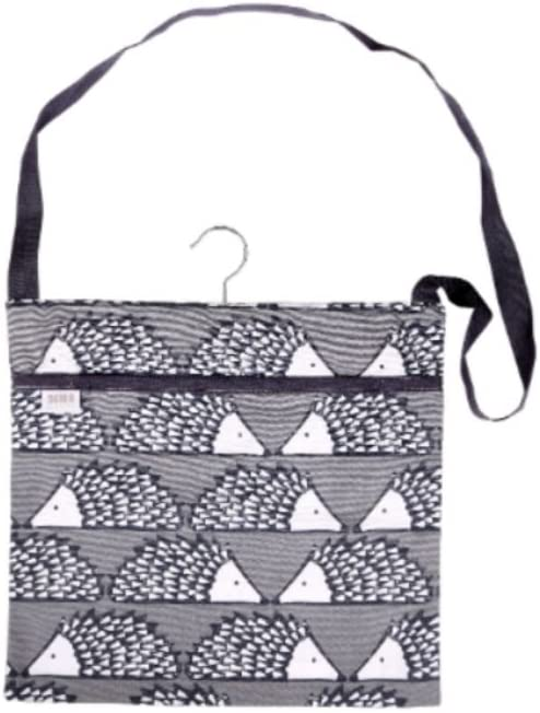 Scion Living Spike The Hedgehog Green Peg Bag 100/% Cotton 30x30x2 cm Spike the Hedgehog Green