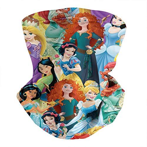 Arcikerse Face Cover for Princess,Balaclava Outdoor Headwear Reusable Sunscreen Turban for Womens