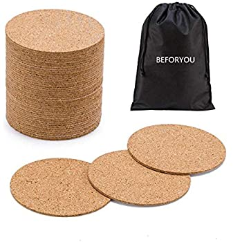 Amazon Com Cork Circles With Self Adhesive Backing 3 1