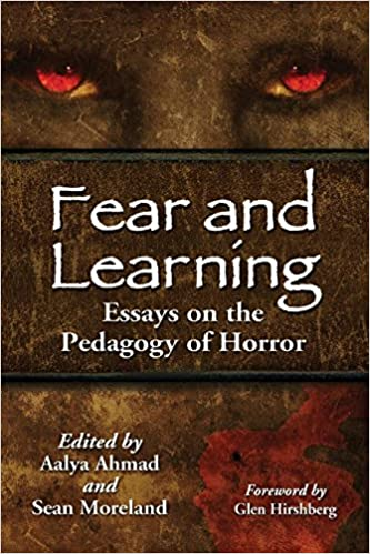 Amazoncom Fear And Learning Essays On The Pedagogy Of Horror  Amazoncom Fear And Learning Essays On The Pedagogy Of Horror   Sean Moreland Aalya Ahmad John Edgar Browning Books