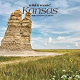 Kansas Wild & Scenic 2020 7 x 7 Inch Monthly Mini Wall Calendar, USA United States of America Midwest State Nature