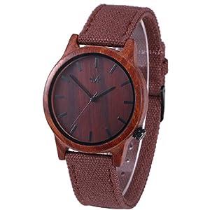 Marino Mens Wooden Watch – Wrist Watches for Men – Dress Wood Watch