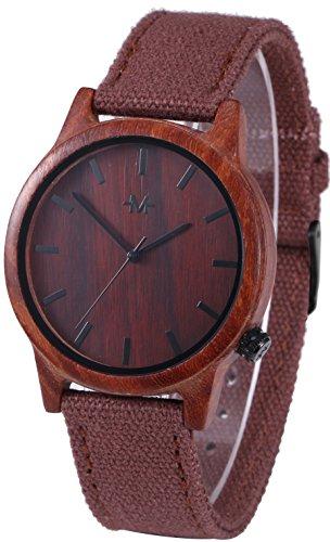 Marino Mens Wooden Watch - Wirst watches for Men - Dress Wood Watch