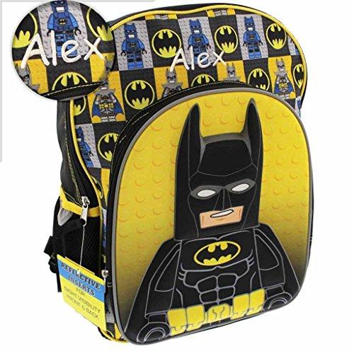 Personalized Superhero Backpacks (Lego (Batman Personalized)