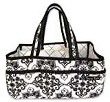 Trend Lab Storage Caddy, Versailles Black And White
