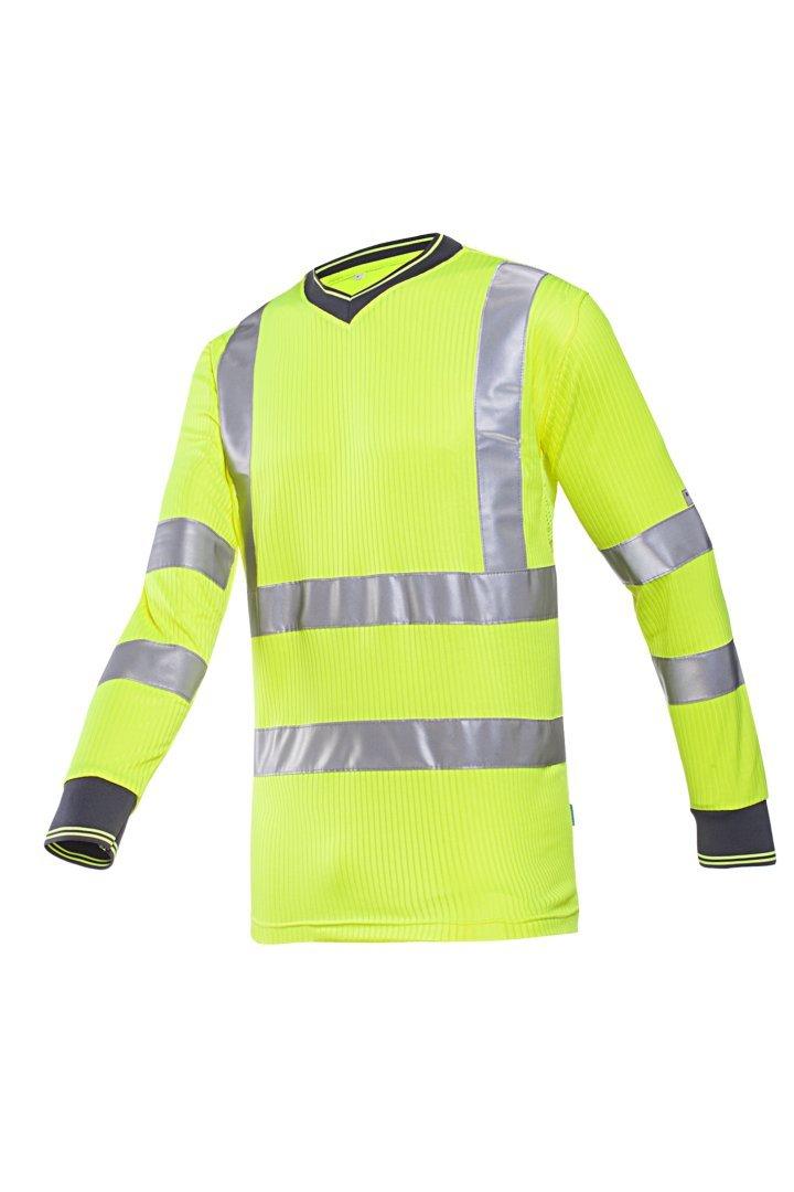 SIOEN 3890A2MV1FY1L Bresso - Camiseta (talla L), color amarillo