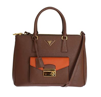f8a8c10a30ba PRADA Saffiano Lux Bag BN2674 NZV F0QER00  Amazon.co.uk  Shoes   Bags