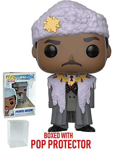 Funko Pop! Movies: Coming to America - Prince Akeem Vinyl Figure (Bundled with Pop Box Protector Case)]()