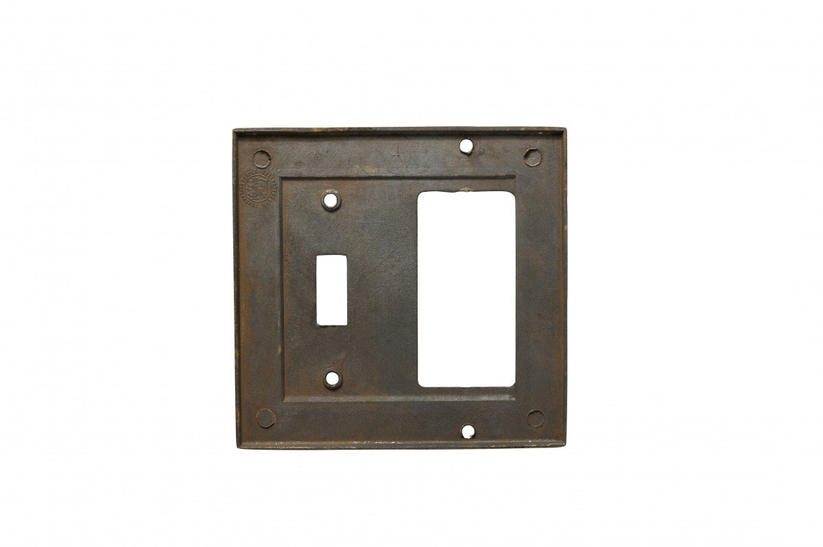 Victorian Switch Plate Toggle GFI Antique Solid Brass   Renovator's Supply by Renovator's Supply (Image #3)